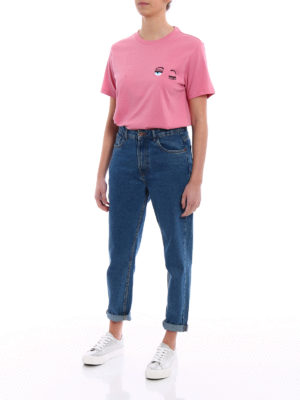 Chiara Ferragni: t-shirts online - Flirting Piccolo pink T-shirt