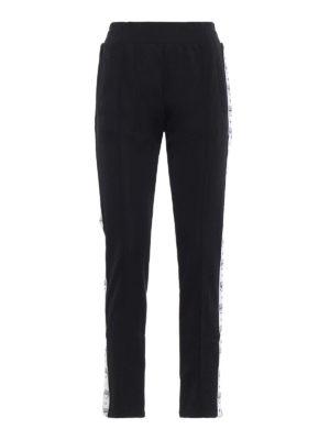 CHIARA FERRAGNI: pantaloni sport - Pantaloni da jogging neri Logomania