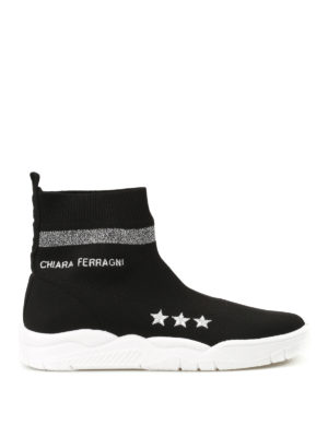 Chiara Ferragni: trainers - Active slip-on sock sneakers