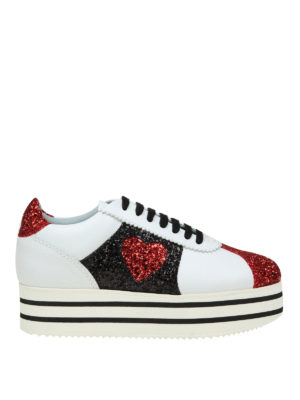 Chiara Ferragni: trainers - Chiara Suite leather sneakers