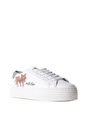 Chiara Ferragni: trainers online - Chiara Suite sneakers with palms