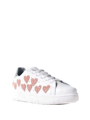 Chiara Ferragni: trainers online - Roger glitter hearts sneakers