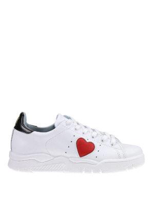Chiara Ferragni: trainers - Roger heart detail sneakers
