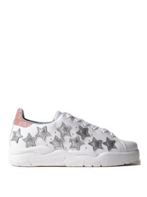 Chiara Ferragni: trainers - Roger silver stars sneakers