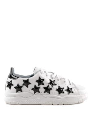 CHIARA FERRAGNI: sneakers - Sneaker Roger con stelle in vernice