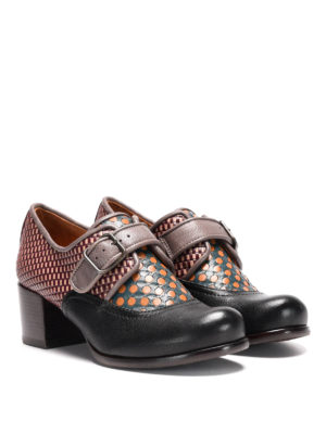 Chie Mihara: classic shoes online - Ontem multi pattern monk strap