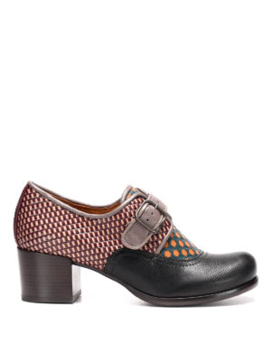 Chie Mihara: classic shoes - Ontem multi pattern monk strap