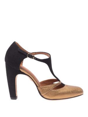 Chie Mihara: scarpe décolleté - Decolleté Daylily bicolori