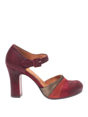 Chie Mihara: scarpe décolleté - Decolleté Deluxe in pelle tricolori