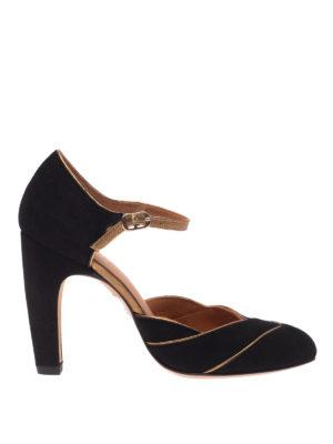 Chie Mihara: scarpe décolleté - Decolleté Dishy con inserti metallizzati