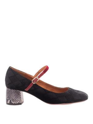 Chie Mihara: scarpe décolleté - Décolleté Tussa in velluto