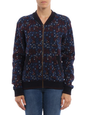 Chloe': casual jackets online - Floral print bomber jacket