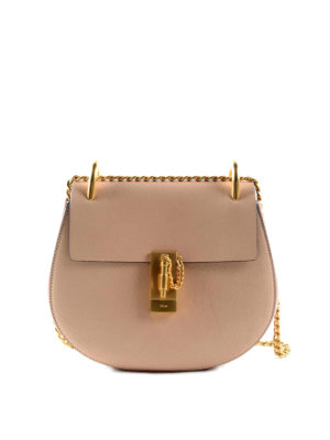 Chloe': cross body bags - Drew leather small cross body bag