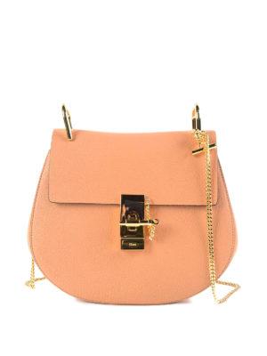 Chloe': cross body bags - Drew soft leather bag