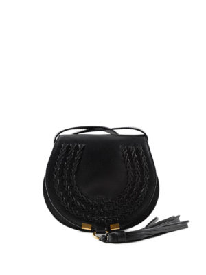 Chloe': cross body bags - Marcie leather small saddle bag