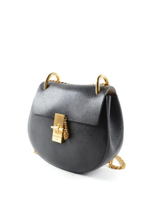 Chloe': cross body bags online - Drew leather small cross body bag