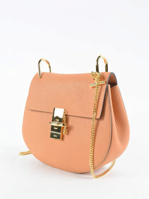 Chloe': cross body bags online - Drew soft leather bag