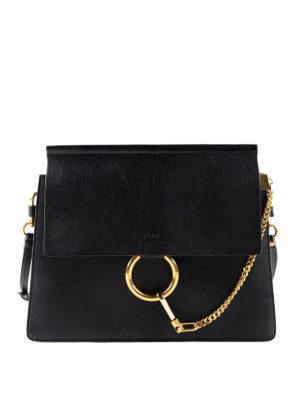 Chloe': shoulder bags - Faye leather bag
