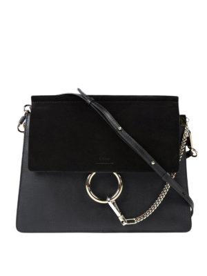 Chloe': shoulder bags - Faye medium crossbody