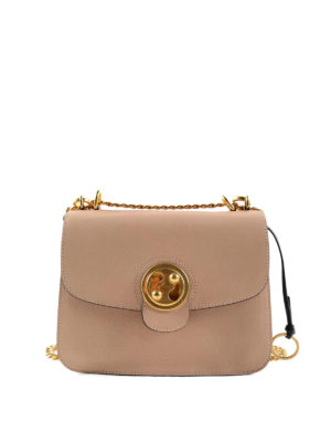 Chloe': shoulder bags - Mily leather medium bag