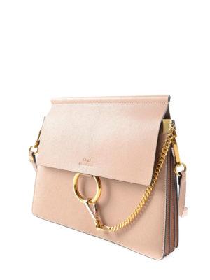 Chloe': shoulder bags online - Faye leather bag