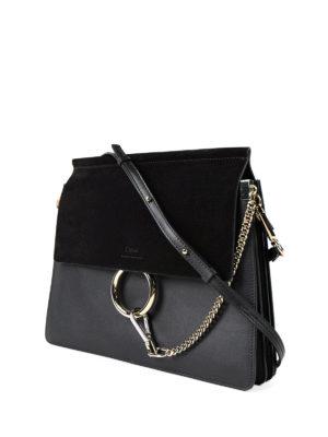 Chloe': shoulder bags online - Faye medium crossbody