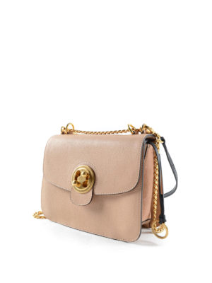 Chloe': shoulder bags online - Mily leather medium bag
