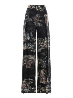 CHLOE': Tailored & Formal trousers - Toile di Jouy printed pants