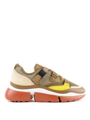 CHLOE': sneakers - Sneaker Sonnie multi materiale