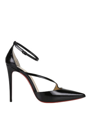 Christian Louboutin: court shoes - Fliketta patent d'Orsay court shoes