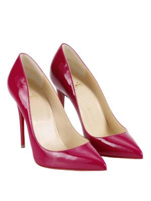Christian Louboutin: court shoes online - Pigalle Follies patent pumps