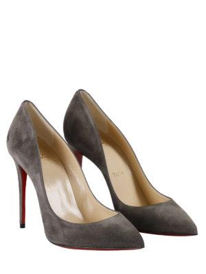 Christian Louboutin: court shoes online - Pigalle Follies suede pumps