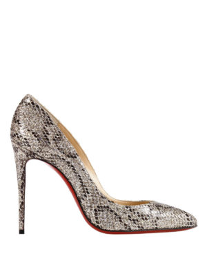 Christian Louboutin: court shoes - Pigalle Follies ayers leather pumps