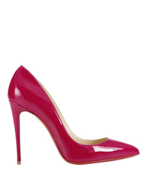 Christian Louboutin: court shoes - Pigalle Follies patent pumps