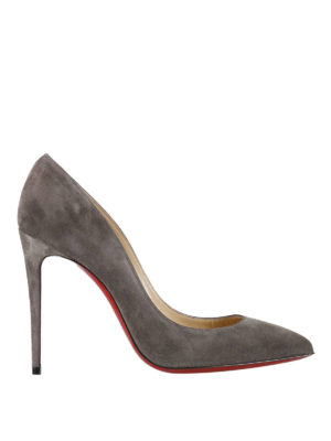 Christian Louboutin: court shoes - Pigalle Follies suede pumps