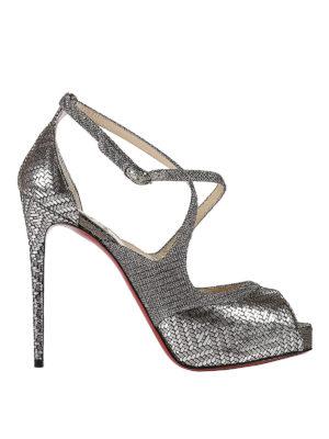 Christian Louboutin: sandals - Mira Bella platform sandals