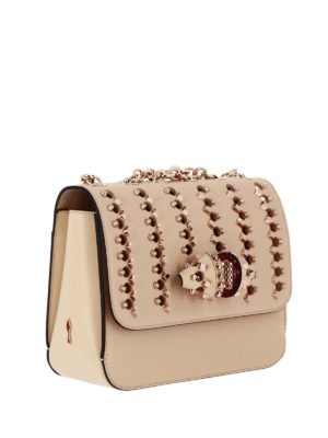 Christian Louboutin: shoulder bags online - Sweet Charity Spikes medium bag
