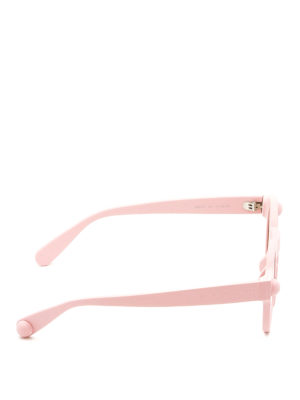 Christopher Kane: sunglasses online - Round shape light pink sunglasses