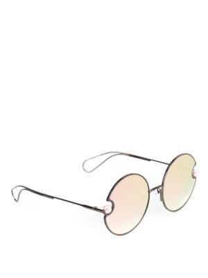 CHRISTOPHER KANE: occhiali da sole - Occhiali da sole tondi con perle