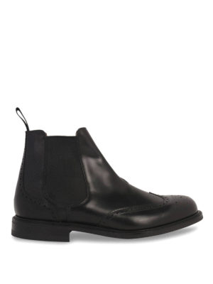 Church's: ankle boots - CRANSLEY LEATHER CHELSEA BOOTS