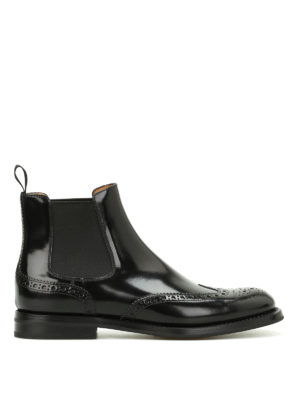 Church's: ankle boots - Ketsby polish leather ankle boots