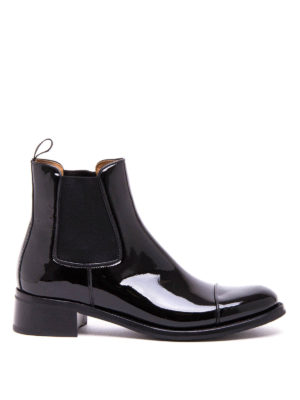 Church's: ankle boots - Nerina Chelsea patent leather boots