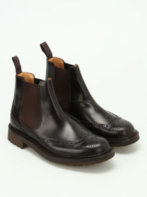 Church's: ankle boots online - Mc Entyre smooth leather booties