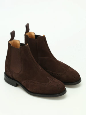Church's: ankle boots online - Ravenfield suede Chelsea boots
