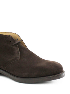 Church's: ankle boots online - Ryder 3 suede Chukka boots