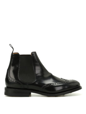 Church's: ankle boots - Ravenfield polished leather booties
