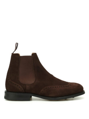 Church's: ankle boots - Ravenfield suede Chelsea boots