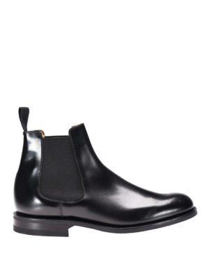 Church's: ankle boots - Redenham glossy leather booties