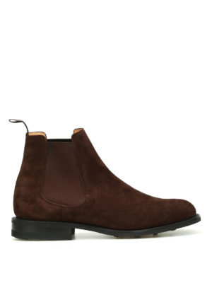 Church's: ankle boots - Redenham suede booties