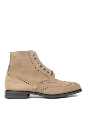 Church's: ankle boots - Renwick high too suede desert boots